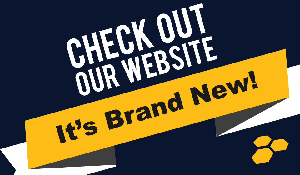 Our new website is up!
